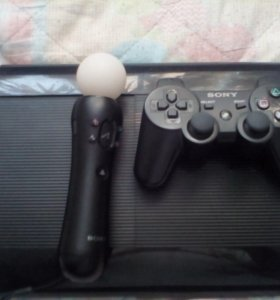 PS3 + Мув + 2 игры + 1 любая
