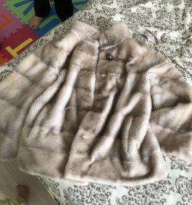 Шуба норковая, размер 48-50