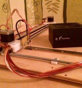 Станок для выжигания по дереву, чпу, Pyro Printer