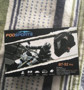 Мотогарнитура Новая Fodsports BT-S2