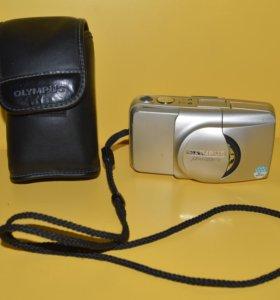 """Плёночный фотоаппарат """"Olympus Zoom-115"""" в чехле"""