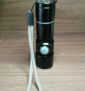 Аккумуляторный фонарик.