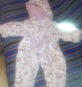 Детский демисезонный комбинезон 68-74 размер
