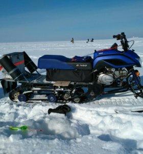 Снегоход Динго 125