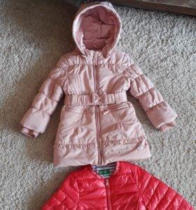 Пальто 2-4 года