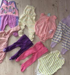 Пакет одежды 0-4 месяца