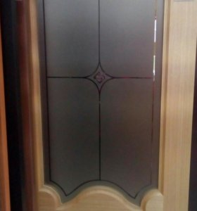Межкомнатная дверь шпон