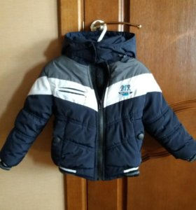 Утепленная куртка на мальчика