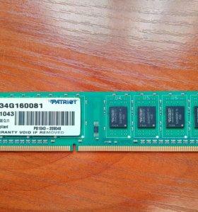 Оперативная память 4GB patriot