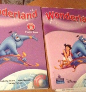 Wonderland Junior B Activity Book и  Pupil's Book