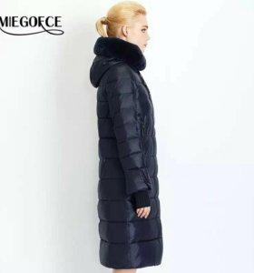 Пальто зимнее 52 размер новое