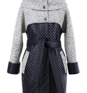 Новое стильное пальто демисезонное