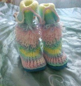 Носочки-сапожки