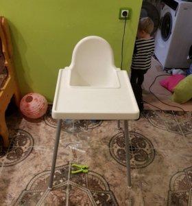 Стул для кормления детский икеа
