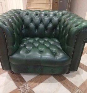 2 дивана 1 кресло Честерфилд