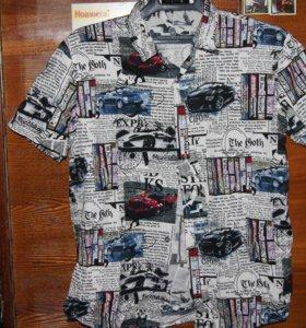 Рубашка летняя мужская