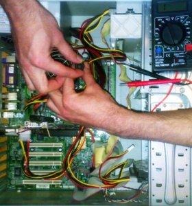 Опытный инженер по ремонту компьютерной техники