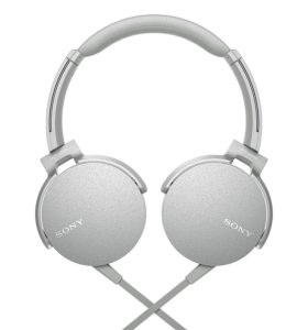 Sony MDR-XB550AP белые