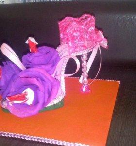 Подарки из конфет на любой повод ручная работа