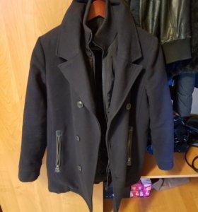 Пальто мужское на подростка