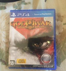 God of war 3 ps4 запечатанная