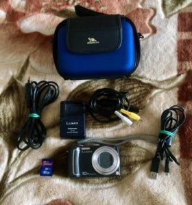 Цифровой фотоаппарат Panasonic Lumix 16гб+доставка