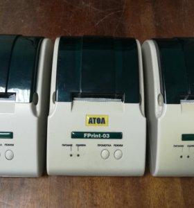 Чековые принтеры Атол Fprint 03