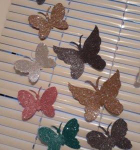 Бабочки ручная работа, на заказ.
