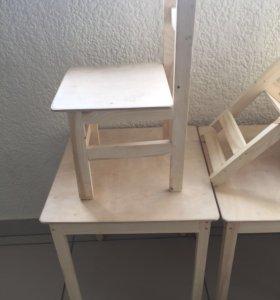 Детские столы и стулья