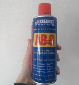 Смазка универсальная проникающая ABRO (450 мл)