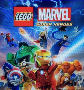 Игра на ps4 LEGO marvel super heroes DLS