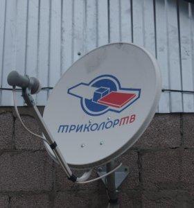 Настройка и ремонт антенн Триколор ТВ