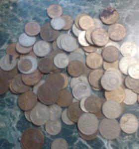 монеты ссср копейки