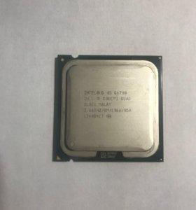 Процессор Intel Core 2 Quad Q6700 и кулер