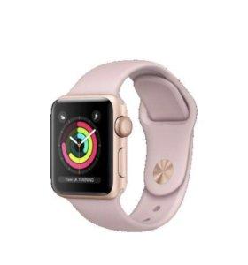 Apple Watch 3, 38 mm новые