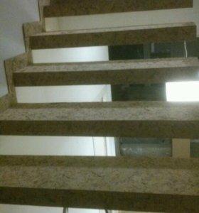 Ремонт и строительство разним виду.  Лестницы