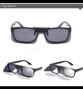 клип на очки для водителей