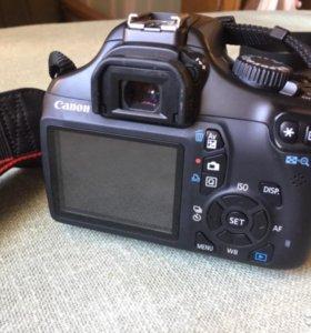Фотоаппарат Canon EOS 1100D или обмен на телевизор