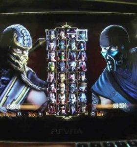 Sony PlayStation Vita Wi-Fi + Mortal Kombat