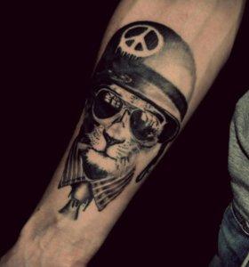 Делаю татуировки.