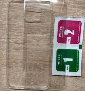Стекло+бампер на Samsung Galaxy S6 Edge+