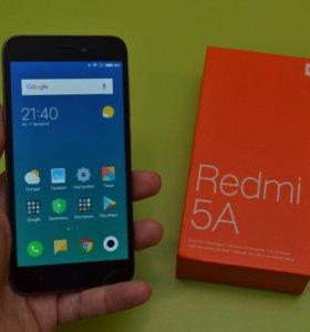 """Xiaomi Redmi 5A 2/16Gb 5"""" Gray Новые"""