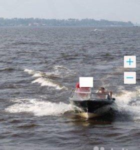Катер FinSport c мотором Меркурий 115 л.с