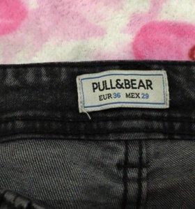 Зауженные джинсы унисекс
