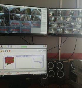 Видеонаблюдение. Установка и ремонт