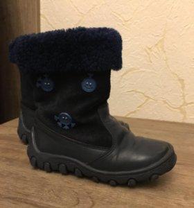 Сапоги детские зима