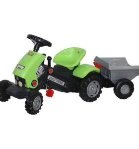 "Каталка трактор ""Turbo-2"" с педалями с полуприцепо"