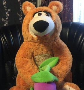 Медведь 140 см новый