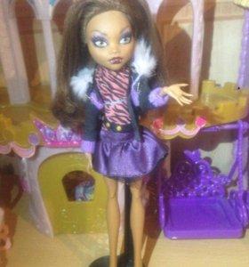 Кукла Монстер Хай Клодин.