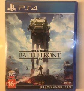 Игра PS4 STAR WARS BATTLEFRONT